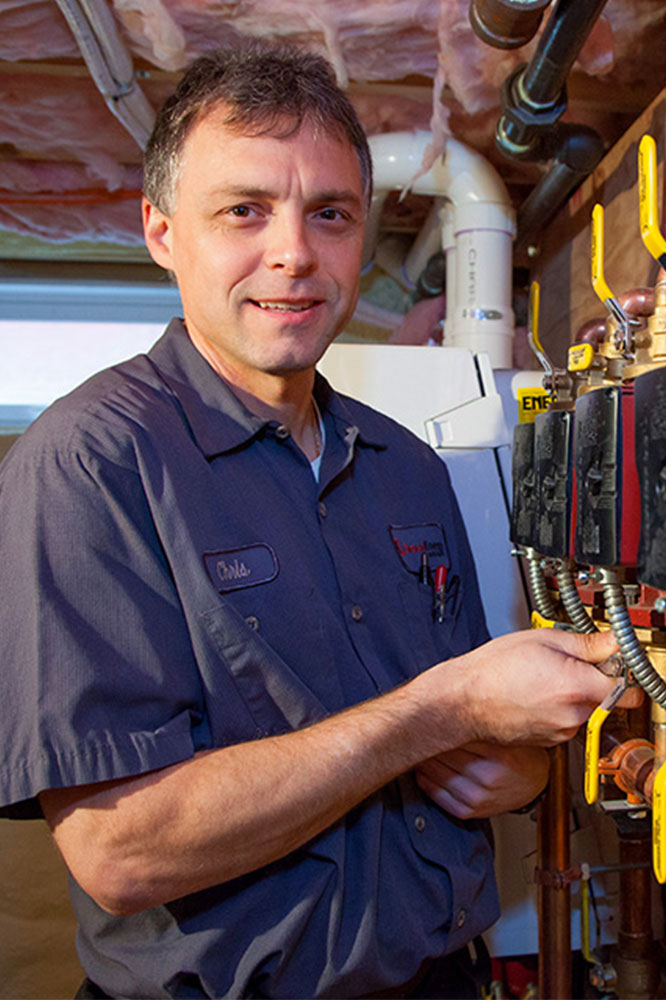 Chris Sprague, Service Manager at Giroux Energy Solutions